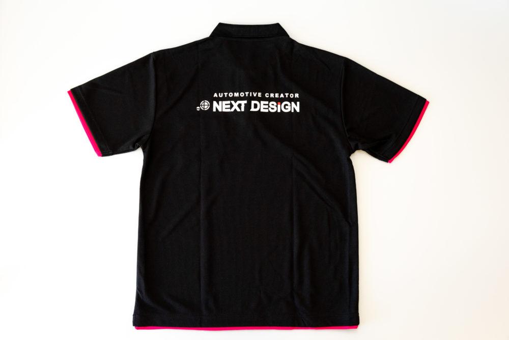 ネクストデザイン ポロシャツ裏面